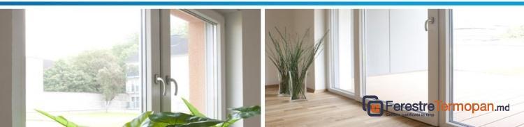 Caldura si lumina cu ferestre PVC